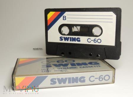 SWING C-60 kaseta magnetofonowa