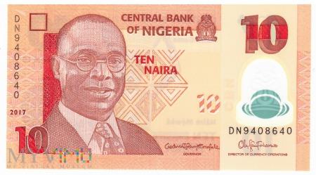 Nigeria - 10 naira (2017)