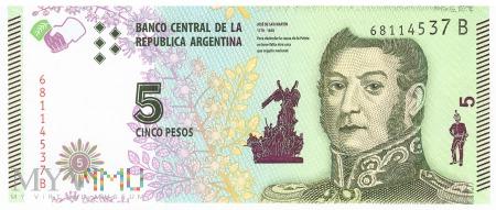 Argentyna - 5 pesos (2015)