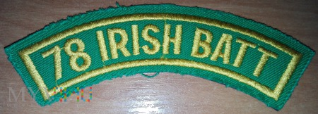 78 Irish Battalion