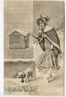 Świnka Noworoczna - ok. 1910