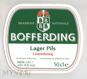 Duże zdjęcie Bofferding, Lager Pils