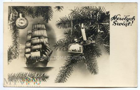 Duże zdjęcie Wesołych Świąt - 1950
