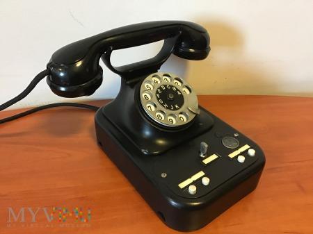 czeski przedwojenny biurkowy aparat telefoniczny