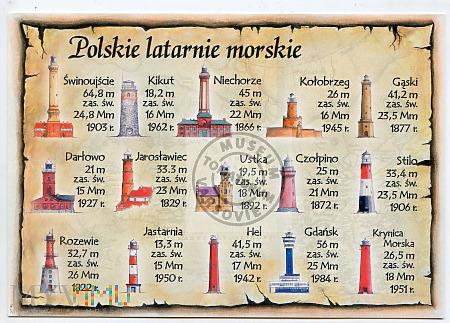 Polskie latarnie morski - przełom XX/XXI w.