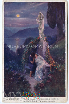Liebscher - Rzymska miłość - obieg 1915