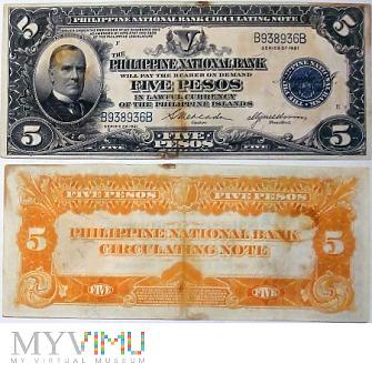Duże zdjęcie 5 Pesos, 1921