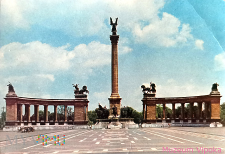 Budapeszt - Plac Bohaterów / Millenijny