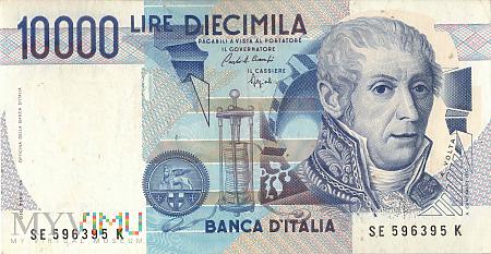 Włochy - 10 000 lirów (1992)