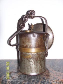 LAMPA GÓRNICZA KARBIDOWA-FRIEMANN&WOLF - 1910r