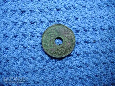 FRANCJA 5 Centimes 1936