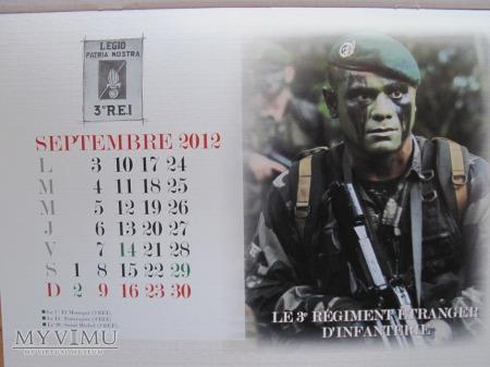 Kalendarz Kepi Blanc 2012