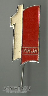 1 MAJA - odznaka