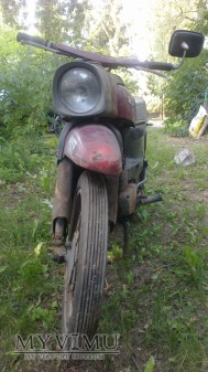 1968 motocykl Gazela SHL M-17