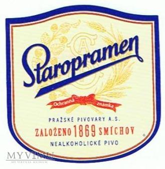 staropramen nealkoholické pivo