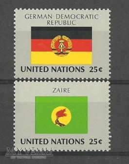 ONZ -flagi V
