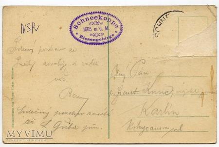 Karkonosze - Riesengebirge - 1900