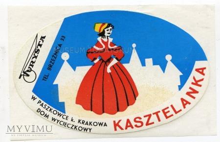 Duże zdjęcie Nalepka hotelowa - Paszkowce - Hotel Kasztelanka