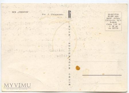 M/S Chopin - 1961