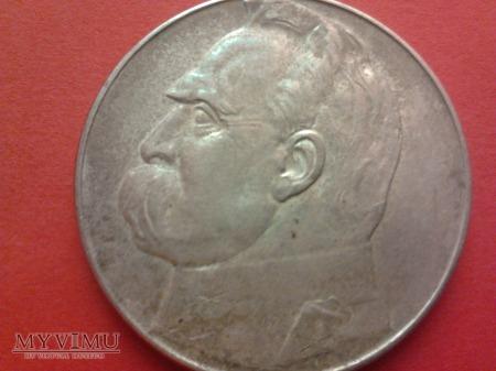 10 złotych 1936 Józef Piłsudski.