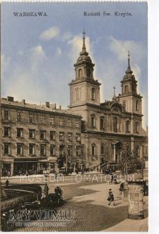 W-wa - Kościół Świętego Krzyża - 1919 ok.