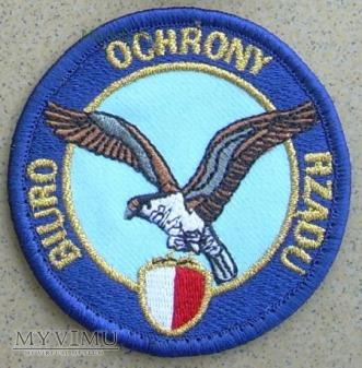 Emblemat BIURO OCHRONY RZĄDU