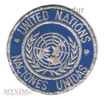 Oznaka UNITED NATIONS / NACIONES UNIDAS