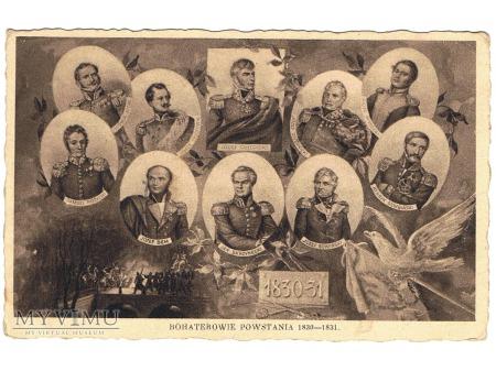 Bohaterowie Powstania 1830-1831.