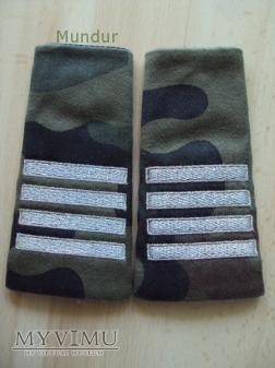 Pochewki z oznakami stopnia - plutonowy BOR