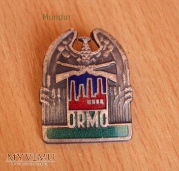 Duże zdjęcie Odznaka ORMO