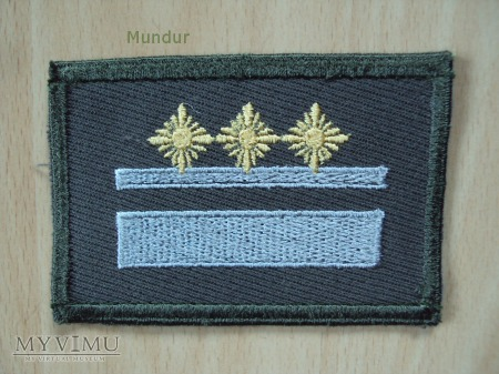 Duże zdjęcie NVA dystynkcje polowe Oberleutnant