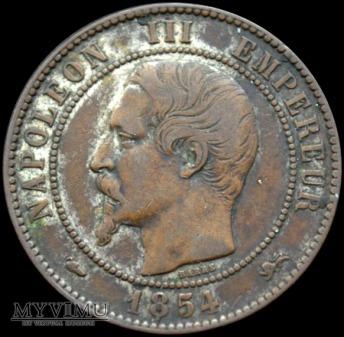 Duże zdjęcie 10 Centimes 1854
