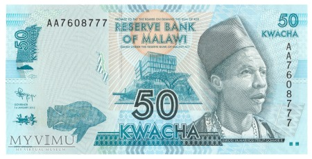 Malawi - 50 kwacha (2012)