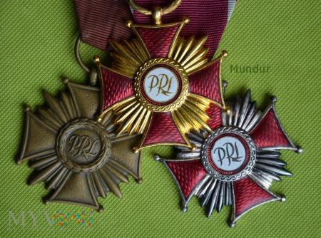 Duże zdjęcie Krzyż Zasługi PRL