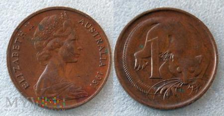 Australia, 1 cent 1981