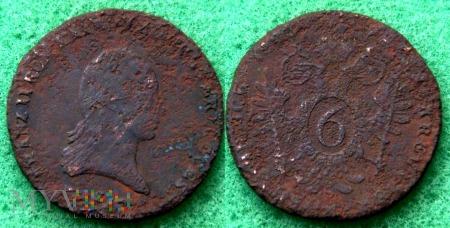 Austria, 6 kreutzer 1800