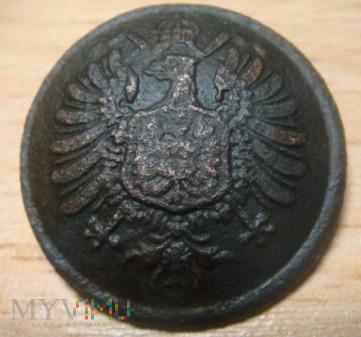Guzik urzędniczy Cesarstwa Niemieckiego wzór 1871