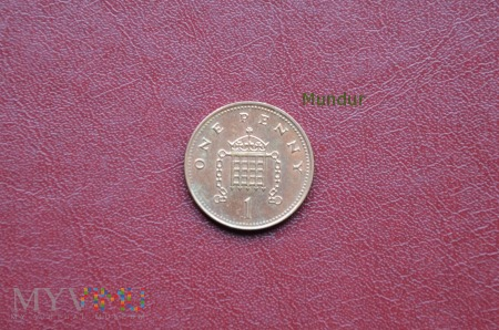 Moneta brytyjska: 1 penny 2005