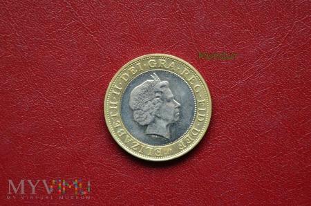 Duże zdjęcie Moneta brytyjska: two pounds
