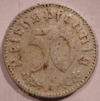 Duże zdjęcie 50 Reichspfennig 1939 A - Berlin