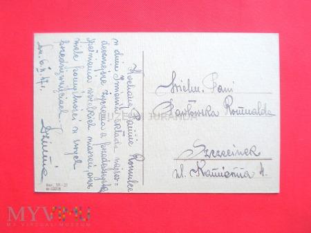 Pocztówka imieninowa