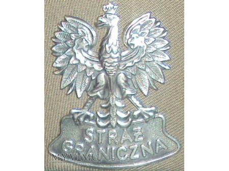 Orzełek metalowy do czapki SG wz.02