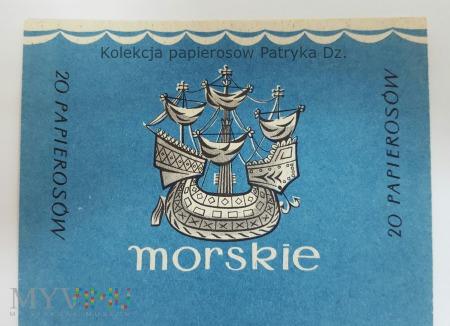 Papierosy MORSKIE 20 szt. - Etykieta
