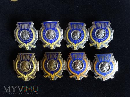 Odznaki Kościuszkowskie - oraz kilka miniaturek