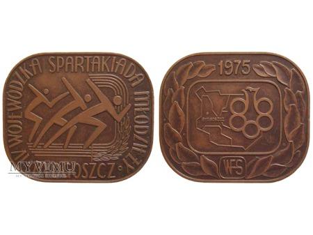 IV Woj. Spartakiada Młodzieży Bydgoszcz medal 1975