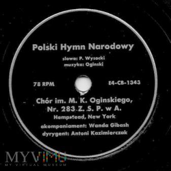 Polski Hymn Narodowy