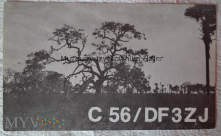 Gambia Karta QSL