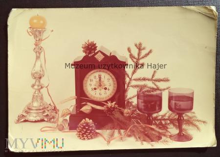 Życzenia Noworoczne - Kartka pocztowa Rosikoń