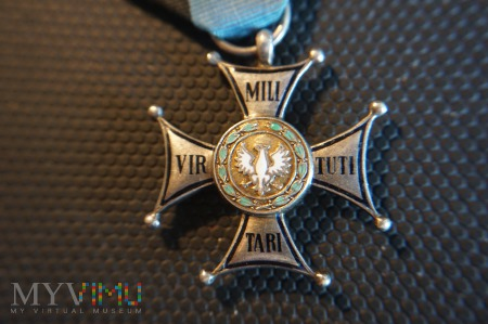 Virtuti Militari V klasy - matryca Knedlera - Ag