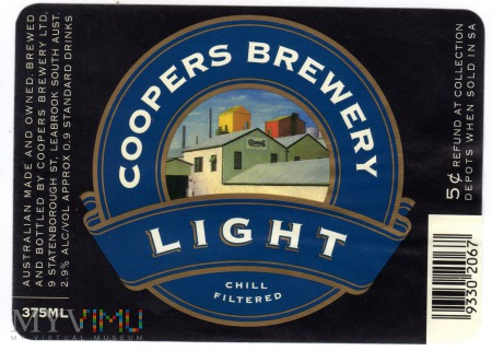 COOPERS BREWERY LIGHT
